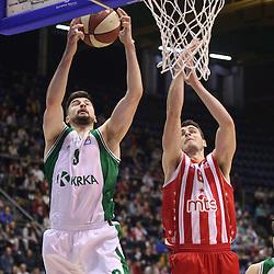 20170115: SRB, Basketball - ABA League 2016/17, KK Crvena Zvezda vs KK Krka
