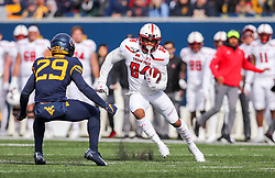Nov 9, 2019; Morgantown, WV, USA; Texas Tech Red Raiders wide receiver Erik Ezukanma (84) runs after a catch during the first quarter against the West Virginia Mountaineers at Mountaineer Field at Milan Puskar Stadium. Mandatory Credit: Ben Queen-USA TODAY Sports