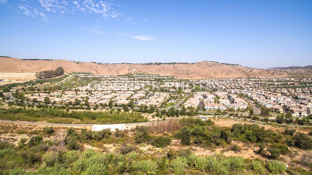 Rancho Mission Viejo Community Aerial Stock Photo