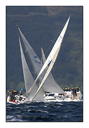 Brewin Dolphin Scottish Series 2011, Tarbert Loch Fyne - Yachting - Day 2 of the 4 day series. Windy!..IRL1141 ,Storm ,Pat Kelly ,Rush SC ,J109..