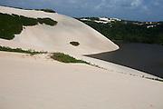 Natal_RN, Brasil...Lagoa de Jenipabu em Natal...Jenipabu lake in Natal...Foto: LEO DRUMOND / NITRO