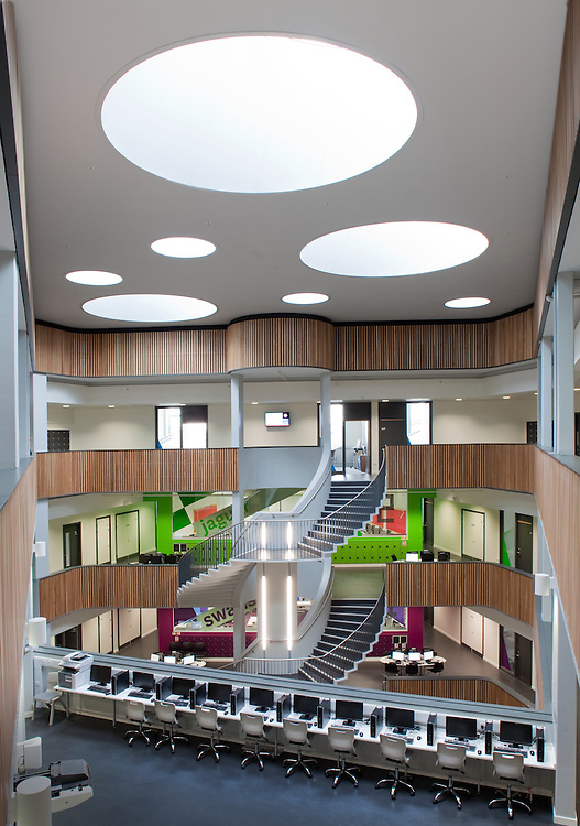 sidney stringer academy education coventry england uk sheppard robson architects