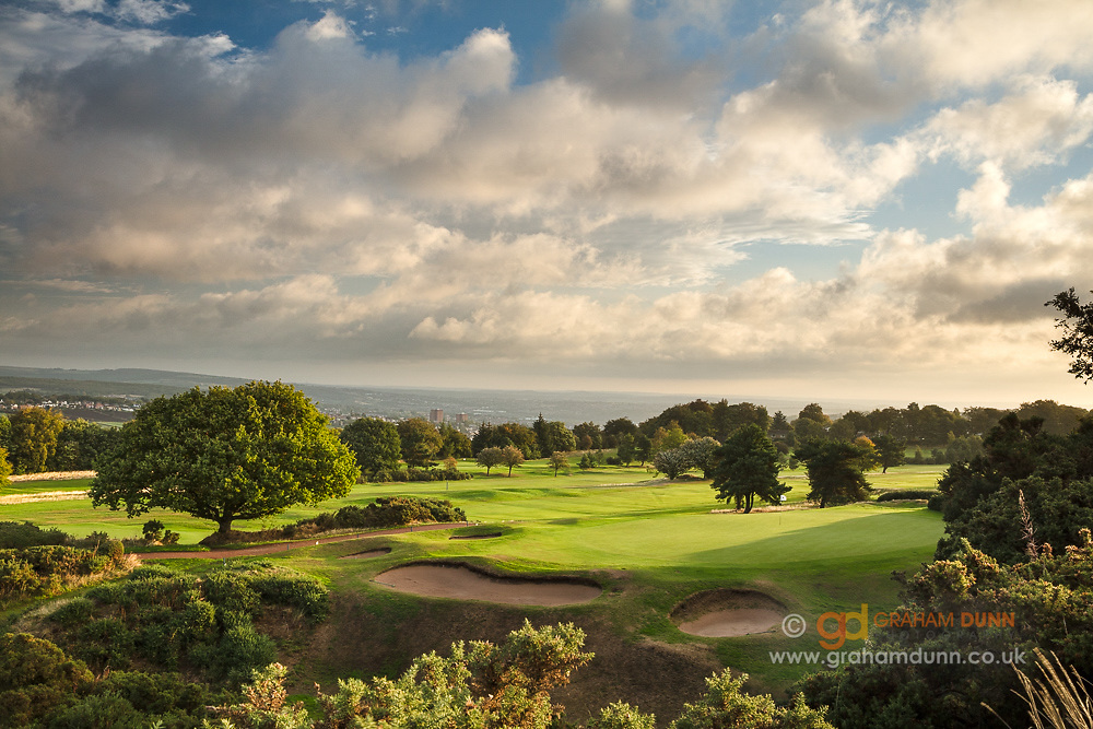 Golf course photography commission - Sheffield, South Yorkshire