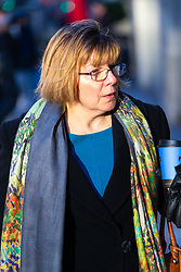 Former Colonel Mary Roohan arrives at an employment tribunal at Victory House in London after claiming she was hounded out of her job after whistle-blowing. London, January 28 2019.