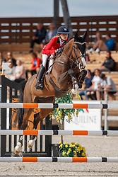Housen Emilia, BEL, Flicka<br /> Children European Championships Jumping <br /> Samorin 2017© Hippo Foto - Dirk Caremans<br /> 12/08/2017