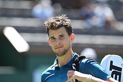 March 16, 2019 - Palm Desert, California, Usa - Tennis : BNP Paribas Open 2019 - Dominic Thiem - Autriche (Credit Image: © Panoramic via ZUMA Press)