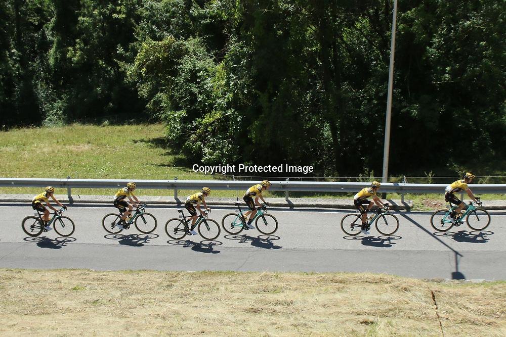 15-08-2020: Wielrennen: Il Lombardia: Como<br /><br />Jumbo Visma