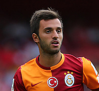 Emirates Cup Match between Galatasaray and Porto at Emirates Stadium in London England on August 03, 2013.<br /> Match scored: Galatasaray 1 - Porto 0<br /> Pictured: Emre Colak of Galatasaray .