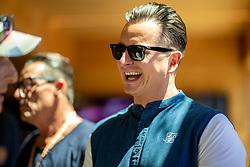 30.06.2019, Red Bull Ring, Spielberg, AUT, FIA, Formel 1, Grosser Preis von Österreich, Rennen, im Bild Andreas Gabalier // Andreas Gabalier before the race for the Austrian FIA Formula One Grand Prix at the Red Bull Ring in Spielberg, Austria on 2019/06/30. EXPA Pictures © 2019, PhotoCredit: EXPA/ Dominik Angerer
