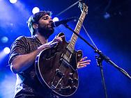 Adam Olenius of Swedish indie-pop band Shout Out Louds at Batschkapp in Frankfurt
