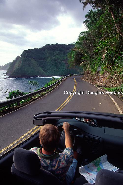 Road to Hana, Hana, Maui, Hawaii, USA<br />