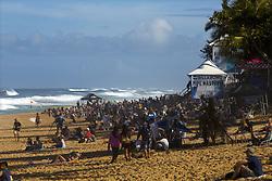 December 8, 2017 - Banzai Pipeline, HI, USA - BANZAI PIPELINE, HI - DECEMBER 8, 2017 - Site of the World Surf League Men's Pipe Invitational and Billabong Pipe Masters. (Credit Image: © Erich Schlegel via ZUMA Wire)