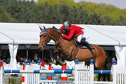 Spits Patrick (BEL) - Witney vd Dwerse Hagen<br /> CSIO Lummen 2008<br /> Photo © Hippo Foto