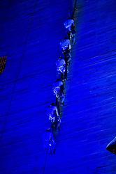 September 1, 2017 - Grupe Ares estreia no Sesc Pompeia, em São Paulo, SP, o espetáculo Vertebral. (Credit Image: © Duda Bairros/Fotoarena via ZUMA Press)