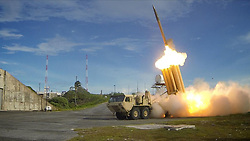 Apr 25, 2017 - (FILE PHOTO) - The U.S. military started moving the THAAD anti-missile defense system to a deployment site in South Korea on Wednesday PICTURED: U.S. - A Terminal High Altitude Area Defense (THAAD) interceptor is launched during a successful intercept test, in this undated handout photo provided by the U.S. Department of Defense. (Credit Image: © Ralph Scott/Department of Defense via ZUMA Wire)