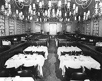 1971 Interior of The Brown Derby