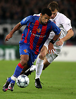 Basels Carlitos gegen Donezks Vyacheslav Shevchuk © Giuseppe Esposito/EQ Images