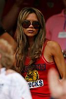 Photo: Glyn Thomas.<br /> England v Trinidad & Tobago. Group B, FIFA World Cup 2006. 15/06/2006.<br /> Victoria Beckham, wife of England captain David Beckham.