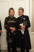 VISCOUNTESS WINDSOR; LEONIE FRIEDA; , An evening of entertainment at St James Court in support of the redevelopment of St Fagans National History Museum. In the spirit of the court of Llywelyn the Great . St. James Court Hotel. London. 17 September 2015<br />  <br /> Noson o adloniant yn St James Court i gefnogi ail-ddatblygiad Sain Ffagan Amgueddfa Werin Cymru