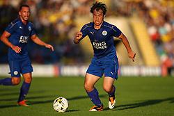 Shinji Okazaki of Leicester City in action - Mandatory byline: Jason Brown/JMP - 19/07/2016 - FOOTBALL - Oxford, Kassam Stadium - Oxford United v Leicester City - Pre Season Friendly