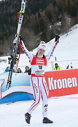 08.01.2012, Weltcupabfahrt Kaernten – Franz Klammer, Bad Kleinkirchheim, AUT, FIS Weltcup Ski Alpin, Damen, Super G, Podium, im Bild Anna Fenninger (AUT, Rang 3) // third place Anna Fenninger of Austria on podium during ladies Super G at FIS Ski Alpine World Cup at 'Kaernten – Franz Klammer' course in Bad Kleinkirchheim, Austria on 2012/01/08. EXPA Pictures © 2012, PhotoCredit: EXPA/ Johann Groder