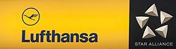 THEMENBILD - das Logo der Lufthansa Fluggesellschaft und der Star Alliance am Flughafen Innsbruck, Österreich, aufgenommen am 09.07.2015 // the logo of the Lufthansa airline and Star Alliance at Innsbruck Airport, Austria on 2015/07/09. EXPA Pictures © 2015, PhotoCredit: EXPA/ Jakob Gruber