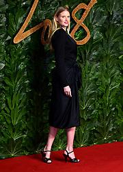 Lara Stone attending the Fashion Awards in association with Swarovski held at the Royal Albert Hall, Kensington Gore, London.
