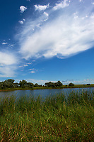 Midwest Summer Sky Panorama. Rest Area along Interstate 29 in South Dakota. Image 7 of 9 taken with a Nikon D3x and 24 mm f/1.4G lens (ISO 100, 24 mm, f/11, 1/800 sec).