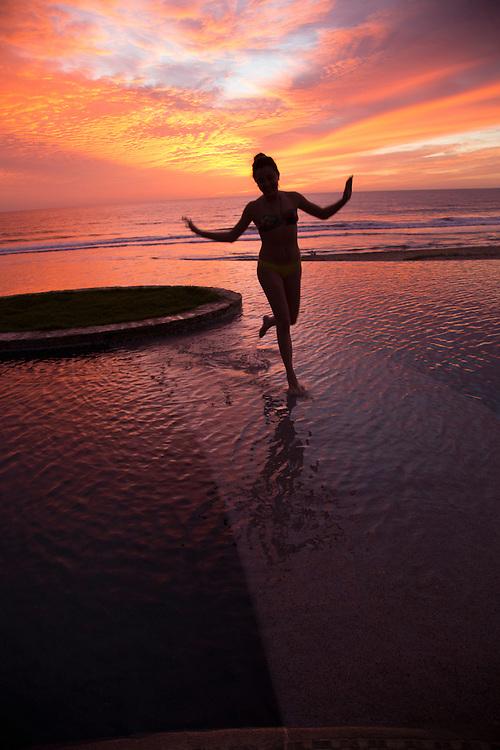 North America, Mexico, Baja Calfornia Sur, Cerritos Beach.   PR