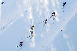 Athlets during Men 15 km Mass Start at day 4 of IBU Biathlon World Cup 2015/16 Pokljuka, on December 20, 2015 in Rudno polje, Pokljuka, Slovenia. Photo by Urban Urbanc / Sportida