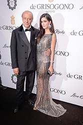 Fawaz Gruosi, Praya Lundberg attending the de Grisogono party ahead the 70th Cannes Film Festival, at Eden Roc Hotel in Antibes, France on May 23, 2017. Photo Julien Reynaud/APS-Medias/ABACAPRESS.COM