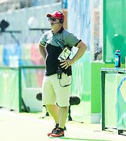 RIO DE JANEIRO  (Brazilië) -  Shane McLeod (Belg.) during the poulematch hockey men Belgium v Great Britain (4-1),   Olympic Games 2016 . Copyright Koen Suyk