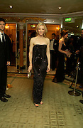 Cate Blanchett. 25th  annual Awards of the London critic's Circle in aid of the NSPCC. The Dorchester. Park Lane. London. 9 February 2005. ONE TIME USE ONLY - DO NOT ARCHIVE  © Copyright Photograph by Dafydd Jones 66 Stockwell Park Rd. London SW9 0DA Tel 020 7733 0108 www.dafjones.com