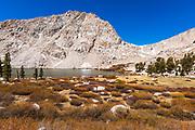 Cottonwood Lake #3 and Army Pass, John Muir Wilderness, California USA