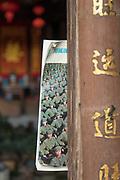 Shop exterior with communist memorabilia for sale, Xidi village, UNESCO World heritage, Anhui province, China