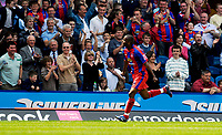 Photo: Alan Crowhurst.<br />Crystal Palace v Derby County. Coca Cola Championship. 29/04/2007. Clinton Morrison of Palace celebrates his goal 1-0.
