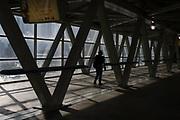 Beams - inside the Skywalk, Toronto