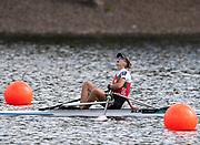 Glasgow, Scotland, Sunday, 5th  August 2018, Final Lightweight women's Single Sculls, Gold Medalist, BLR LW1X, Alena  FURMAN, European Games, Rowing, Strathclyde Park, North Lanarkshire, © Peter SPURRIER/Alamy Live News