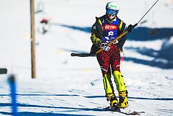 Sabine Schoeffmann (AUT) during parallel giant slalom FIS Snowboard Alpine world championships 2021 on 1st of March 2021 on Rogla, Slovenia, Slovenia. Photo by Grega Valancic / Sportida