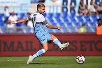 Gol Ciro Immobile Lazio 2-0 goal celebation <br /> Roma 23-09-2018 Stadio Olimpico Football Calcio Serie A 2018/2019 Lazio - Genoa <br /> Foto Andrea Staccioli / Insidefoto