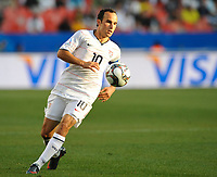 Fotball<br /> USA v Brasil<br /> Foto: DPPI/Digitalsport<br /> NORWAY ONLY<br /> <br /> FOOTBALL - CONFEDERATIONS NATIONS CUP 2009 - GROUP B - 1ST ROUND - USA v BRAZIL - 18/06/2009<br /> <br /> LANDON DONOVAN (USA)