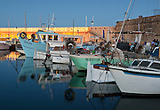 Editorial Travel Photography: Marina of Antibes at dusk, french riviera, Cote d'Azur, France