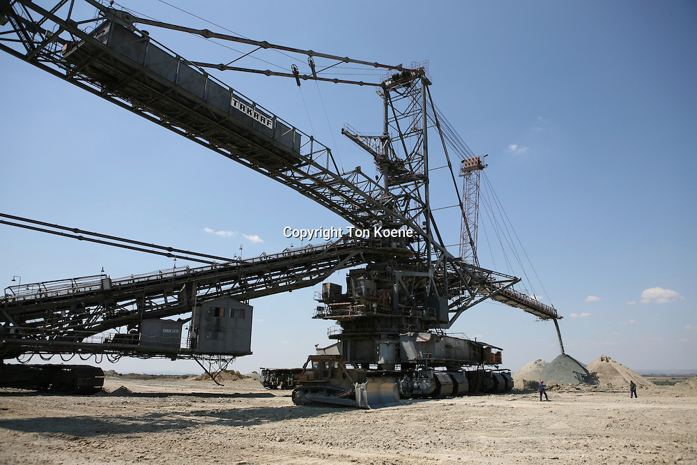 Maritsa Iztok is the largest coalmine in Bulgaria