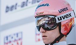 31.12.2020, Olympiaschanze, Garmisch Partenkirchen, GER, FIS Weltcup Skisprung, Vierschanzentournee, Garmisch Partenkirchen, Qualifikation, Herren, im Bild Karl Geiger (GER) // Karl Geiger of Germany during qualification jump of men's Four Hills Tournament of FIS Ski Jumping World Cup at the Olympiaschanze in Garmisch Partenkirchen, Germany on 2020/12/31. EXPA Pictures © 2020, PhotoCredit: EXPA/ JFK