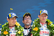June 10-16, 2019: 24 hours of Le Mans. 7 Kamui kobayashi, Toyota Gazoo Racing, TOYOTA TS050 - HYBRID, 7 Mike Conway, Toyota Gazoo Racing, TOYOTA TS050 - HYBRID
