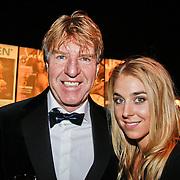 NLD/Amsterdam/20101209 - VIP avond Miljonairfair 2010, Aad de Mos en dochter