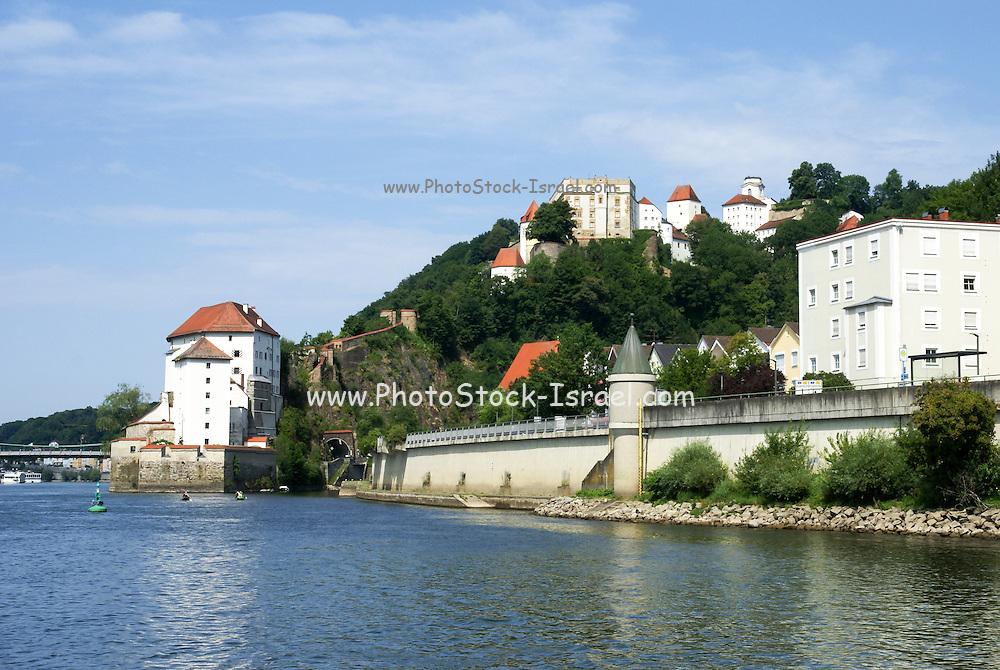 Veste Oberhaus Fortress, Passau, Lower Bavaria, Germany