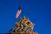 Marine Corps War Memorial, also Iwo Jima Memorial, Arlington Ridge Park, Arlington, Virginia, USA