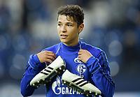 Amine Harit (Schalke)<br /> Gelsenkirchen, 19.08.2017, Fussball Bundesliga, FC Schalke 04 - RB Leipzig 2:0<br /> <br /> Norway only