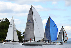 The Silvers Marine Scottish Series 2014, organised by the  Clyde Cruising Club,  celebrates it's 40th anniversary.<br /> Day 1<br /> FRA37296, Salamander XXI, John Corson, CCC, First 35<br /> <br /> Racing on Loch Fyne from 23rd-26th May 2014<br /> <br /> Credit : Marc Turner / PFM